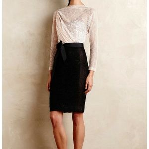 Anthropologie Byron Lars Beguile dress size 4P